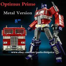 "New Deformabl Robot Optimus Prime MP10V Metal Version 8"" Actions Figures Toys"