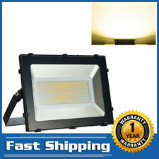 300W Led Flood Light Outdoor Bright Spotlight Warm White Garden Yard Lamp
