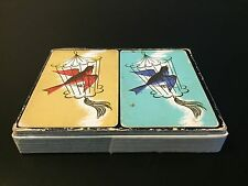 Vintage Vogue Playing Cards, 2 Decks, Bird Cage, 100% Complete