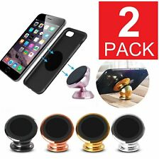 2-Pack 360 Degree Magnetic Car Mount Dashboard Holder For Cell Phone Universal