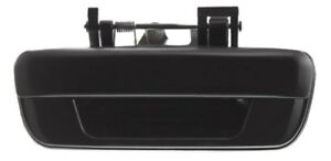 Rear Gate Tailgate Tail Latch Handle Black for 2004-2012 GM Colorado GMC Canyon