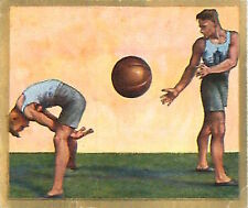 N°120 World War German Soldiers medicine ball Reichswehr Germany WWI 30s CHROMO