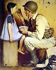 Print - The American Way by Norman Rockwell