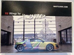 "Herpa 1:87 Audi R8 ""mattlook.com"" Presse-Set Limitiert auf 50 Stück !!!!"