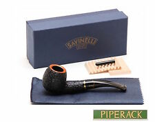 NEW Savinelli Oscar Tiger Rustic 626 . 6mm Balsa Filter Bent Pipe
