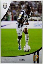 Cartoncino Juventus Stagione 2011/12 - Eljero Elia