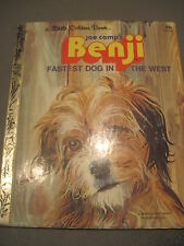 Little Golden Book - BENJI FASTEST DOG IN THE WEST