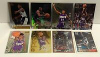 Ray Allen (8) Card RC Lot: 96-97 Topps #217 Finest #22 TSC #5 Flair Bowman Hoops