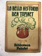 Biblioteca Patufet,La Bella Historia den Tupinet,Junceda 1ª edicion 1917