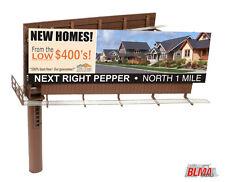 Blma #4320 - Modern Dual-Sided Billboard w/ Ads - Ho Scale