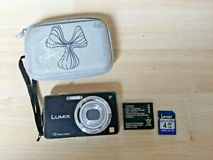 Panasonic FS10 Digital Camera (Working - comes with SD card and charger)