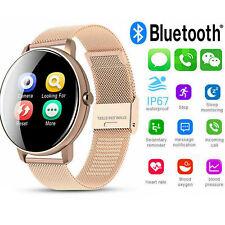 Cardiofrequenzimetro Sport Smart Watch Bracciale Fitness Tracker per iOS Android