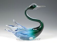 Salviati Venice Venetian Murano Italy Art Glass FIGURINE SCULPTURE SWAN BIRD