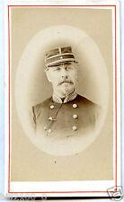 PHOTO CDV Pérol à Vincennes .Général . + NOM + SOUVENIR D'OCTOBRE 1871
