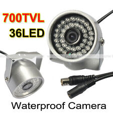 36LED 700TVL IR-CUT CCTV Outdoor Waterproof 6mm LENS Camera Security System DVR