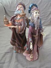 "Duncan Royale 11"" Santa Claus Magi Figurine w/Original Box & Packaging Euc"