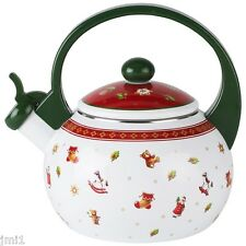 Villeroy & Boch TOY'S DELIGHT Whistling Tea Kettle