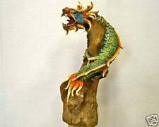 Magnifique Figurine Dragon sur Tronc 28cm!