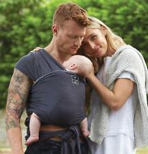 Brand New Hug-a Bub Baby Carrier/Baby Sling/Organic Cotton/Baby Wrap/Charcoal