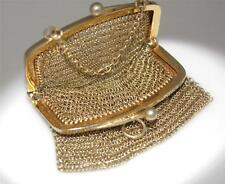 Vintage Sterling Silver Mesh Purse COLLECTIBLE VERY PRETTY Hallmarked  / W 782