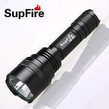 SupFire C8 T6 White LED flashlight 1100lm Lumens 10Watt 18650