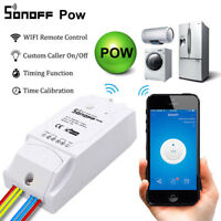 Snoff Pow 16A WiFi Wireless Smart Swtich Module Power Consumption Measurement f