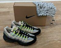 Nike Air Max 95 Denham - Size 9.5 M - BLACK/VOLT-SUMMIT WHITE DD9519-001 ON HAND