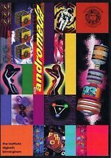 PANDEMONIUM ANDROMEDA Rave Flyer Flyers 4/6/93 A4 The Institute Birmingham