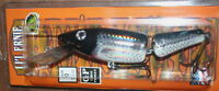 """6"""" Jointed Little Ernie Musky Mania Pike Crankbait Holoform Silver Shad JLE-901"""