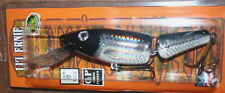 "6"" Jointed Little Ernie Musky Mania Pike Crankbait Holoform Silver Shad JLE-901"