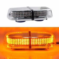 240 LED Light Bar Roof Top Amber Emergency Beacon Warning Flash Strobe Light NEW