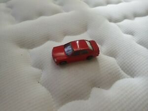 Vintage Die cast Corgi BMW Red Car
