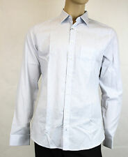 NEW Authentic Gucci Mens Cotton Striped Shir Slim Fit 39/15.5 268884 4465