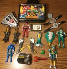 Mighty Morphine Power Rangers Action Figures watch Bandai set  90's MMPR box lot