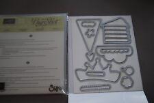 Stampin Up Wish Big Thinlits Die - New in Package - 141476 - Set of 12 New Dies