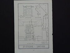 Architecture, French c.1925 St. Etienne Limoges s#57