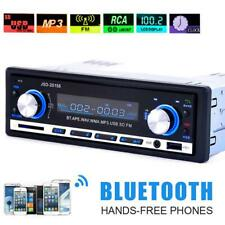 Bluetooth Car Stereo Audio 1 DIN In-Dash FM Radio Aux Input Receiver SD USB MP3