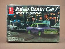 BATMAN GOON CAR & GOTHAM CITY POLICE CAR 1/25th SCALE MODEL KIT AMT/ERTL SEALED