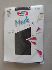 Mode Boutique BNIP Absolutely Gorgeous Bling Black Tights with Silver Sparkle M