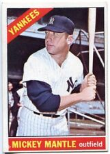 Mickey Mantle 1966 Topps #50 New York Yankees Card
