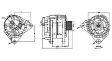 Alternator-DIESEL TYC 2-13853