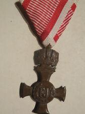 Austria croce al merito con corona 1916