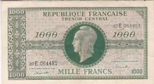 TRESOR : 1000 FRANCS MARIANNE 1945 CHIFFRES MAIGRES SERIE E TTB