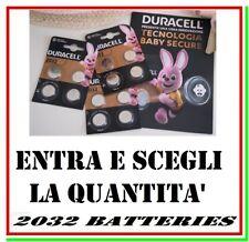 pila cr2032 3v duracell litio bottone dl2032 dl cr 2032 lithium battery