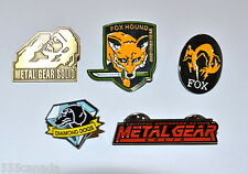 Metal Gear Solid 5 Limited Pin Collectors Set - Snake Phantom Pain 2 3 4 V