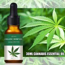 Huile de Chanvre Hemp Oil 30ml Réduit Anxiété Pain Stress Usage Externe Only✨