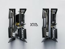 XTIA Xproto A4 Mini-ITX Open Case Mini Tower Case Dark Grey Computer Case