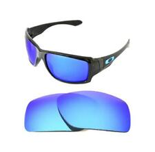 NEW POLARIZED CUSTOM ICE BLUE LENS FOR OAKLEY BIG TACO SUNGLASSES