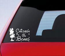 Les enfants à bord autocollant Funny Novelty KIDS voiture Panneau d'avertissement autocollant vinyle fenêtre