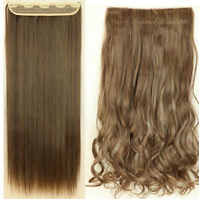 One Piece Full Head Clip in Hair Extensions Natural Hair as remy human Hair S98